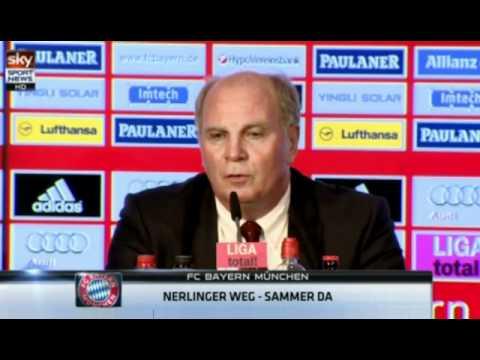 FC Bayern München Pressekonferenz - Matthias Sammer