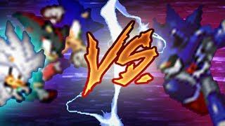Sonic, Shadow, Silver VS Metallix (pivot sprite battle)