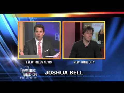 Joshua Bell talks about his new Christmas album
