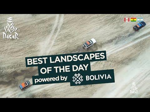 Landscape of the day - Stage 7 (La Paz / Uyuni) - Dakar 2018