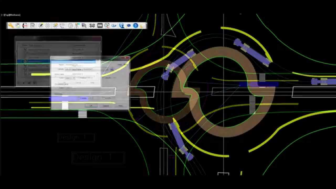 Torus 5 0 Modern Roundabout Cad Design Software Turbo Roundabouts