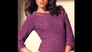 Вязаные Джемперы Спицами для Женщин - 2019 / Knitted Sweaters Spokes For Women /Strickpullover