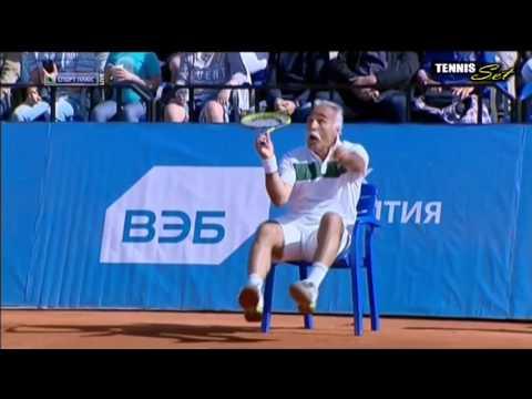 Marat Safin & Fabrice Santoro vs Wayne Ferreira & Mansour Bahrami TENNIS LEGENDS HD MOSCOW