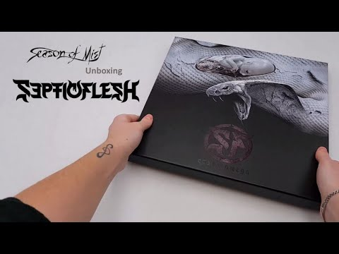 Septicflesh - Unboxing limited edition collectors box