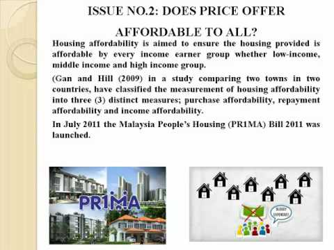 MALAYSIAN HOUSING ISSUES