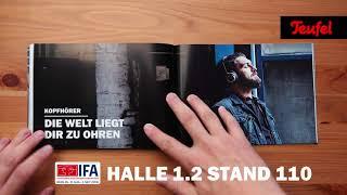 IFA 2018 - wir machen laut!