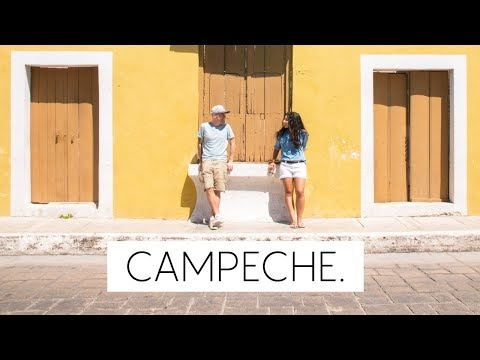 The Most Colourful City in Mexico: Campeche