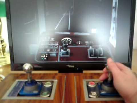 u bahn fahrpult aus usb joysticks youtube