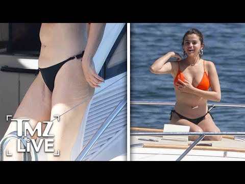 Selena Gomez's Transplant Scars Visible As She Soaks Up Sun in Sydney | TMZ Live