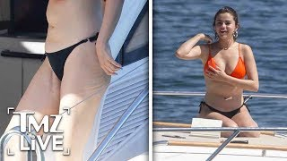 Selena Gomez's Transplant Scars Visible As She Soaks Up Sun in Sydney | TMZ Live