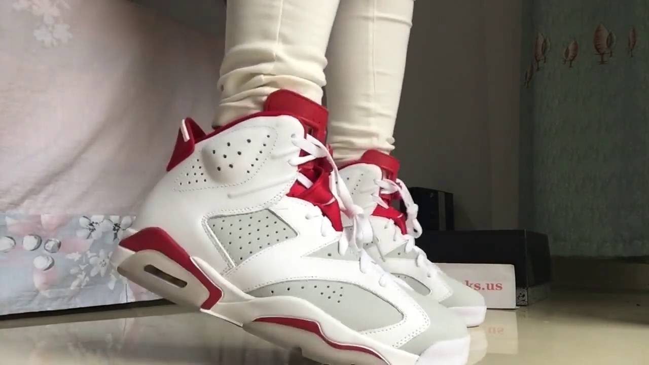 a9bf17607d5a41 On Feet Air Jordan 6 Hare Review From Topkicks.us ! - YouTube