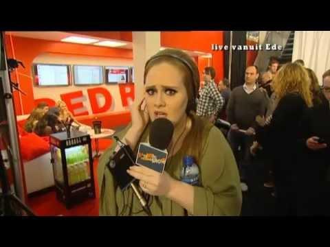 Adele's Backstage for Madiwodovrijdagshow (21 January 2011)