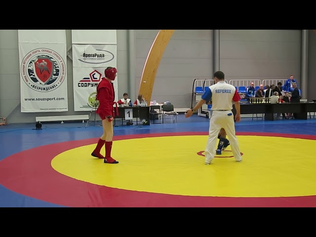 Чемпионат Санкт-Петербурга по боевому самбо 17.12.2017