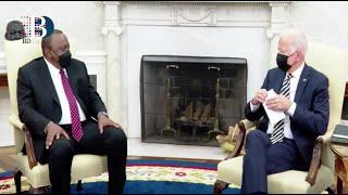 President Kenyatta holds meeting with US President Joe Biden
