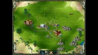 Die Siedler II 2 - Veni, Vidi, Vici / The Settlers / Intro + Level 1 / Deutsch / PC DOS