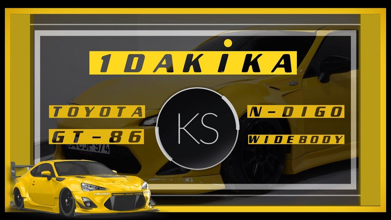 GT86 N-DIGO WIDEBODY   DRIVER   1Dakika