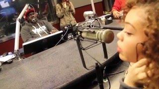Miss Mulatto #TheRapGame Interview w/ DJ Greg Street V-103