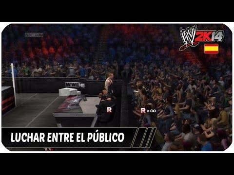 WWE 2K14 | Como luchar entre el público | Español