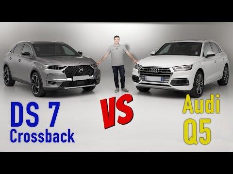 DS 7 Crossback vs Audi Q5 : premier match exclusif