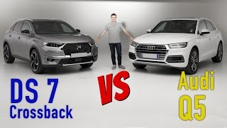 DS 7 Crossback vs Audi Q5 : premier match exclusif