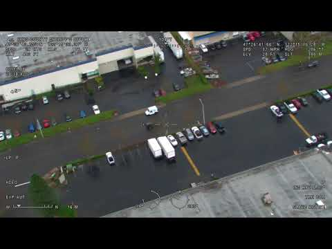 King County Sheriff's Guardian 1 video of entire pursuit