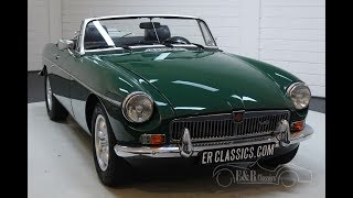 MG B Cabriolet V8 1976 5-speed gearbox -VIDEO- www.ERclassics.com