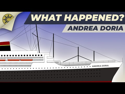 What happened to the Andrea Doria?