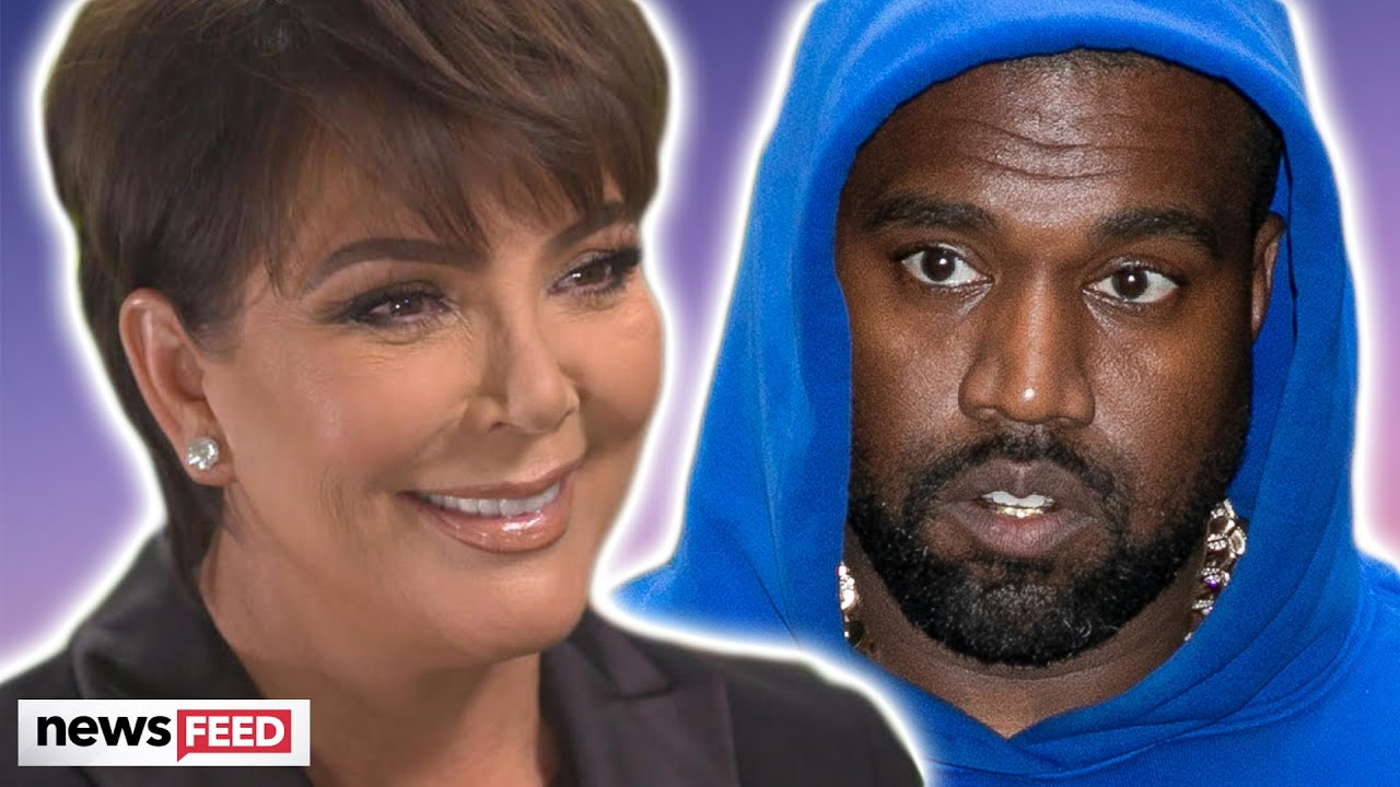 Kris Jenner BREAKS SILENCE After Kanye West's Remarks! - Clevver News