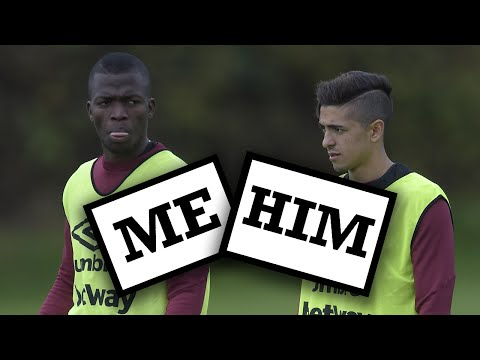 Me and Him... with Enner Valencia and Manuel Lanzini