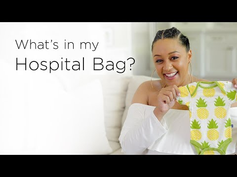 Tia Mowry's Hospital Bag Checklist  Quick Fix