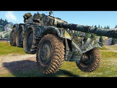 EBR 105 - MAX SKILL - World of Tanks Gameplay