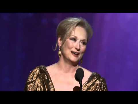 Meryl Streep Wins Best Actress: 2012 Oscars