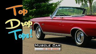 Favorite Convertibles From The Brothers Collection Muscle Car Of The Week Video Episode 210