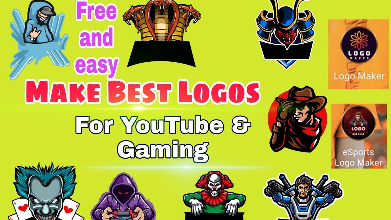 How To Make Best Logo For YouTube & PUBG mobile | Best 2 ...