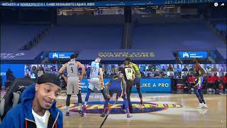 FlightReacts WIZARDS at WARRIORS | FULL GAME HIGHLIGHTS | April 9, 2021!