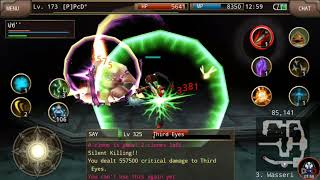 Iruna Online - [P]PcD° - Ninja SK Test Damge Weapon Eventail III