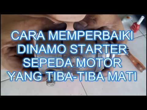 Cara Memperbaiki Dinamo Starter Sepeda Motor Yang Tiba ...
