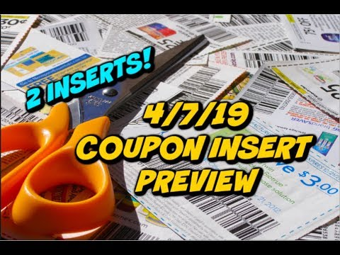 Sunday Coupon Preview 10-27-19