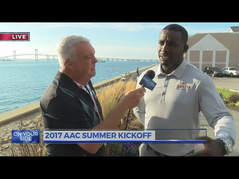 AAC Summer kickoff interviews with Scottie Montgomery and Parker Overton