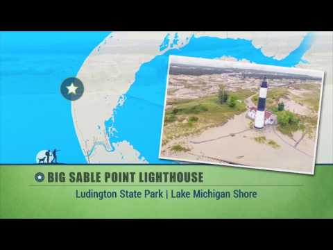 Great Getaways: Big Sable Point Lighthouse Segment (Ep 1403 - Ludington)