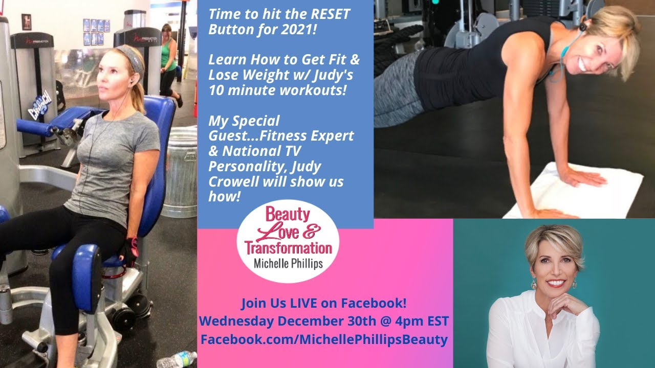 Fitness Expert Judy Crowell Teaches us How to Get Fit in Just 10 Minutes a Day!