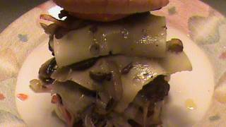 Bacon Swiss Mushroom Burger.....do Not Watch,this Is A Mess Lol