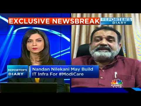 Nandan Nilekani May Build IT Infra For #ModiCare