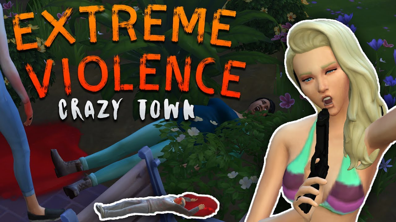 the sims 4 extreme violence mod