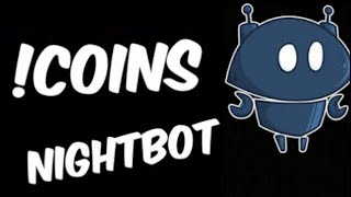 How to get coin system ( !coins ) in nightbot  for live streams /giveaways