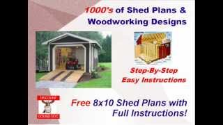 Storage Building Plans - Special Discount Storage Building Plans With Full Instructions!