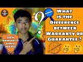 What is the Difference between Warranty or Guarantee ? Explained in Hindi !!