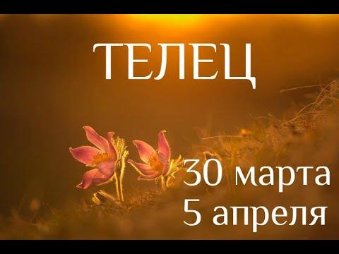 ТЕЛЕЦ. Таро-прогноз на 30 марта-5 апреля 2020. Таро-гороскоп для Тельцов от Ирины Захарченко.