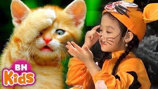 Nhạc Thiếu Nhi Vui Nhộn ♫ Meo Meo Meo Rửa Mặt Như Mèo ♫ Bé Chơi Bập Bênh - Bài Hát Cho Trẻ Mầm Non