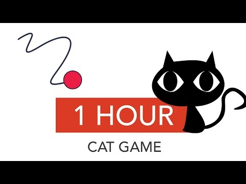 CAT GAMES  [1 HOUR] catch the snake 😼